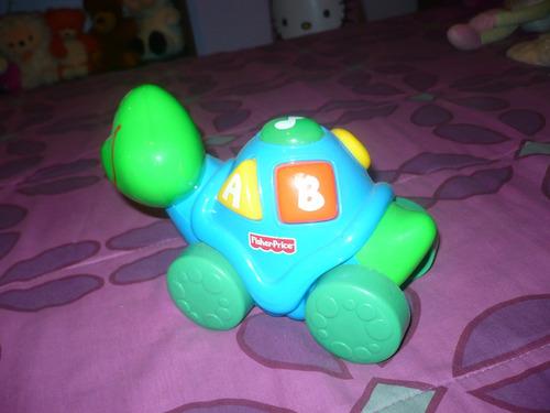 juguete tortuga aprende conmigo fisher price