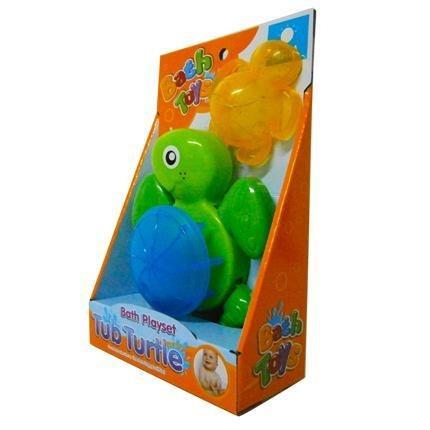 juguete tortuga hora del baño