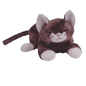 juguete ty beanie babies ataque repentino - gato