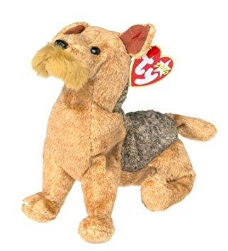 juguete ty beanie babies - bigotes del perro
