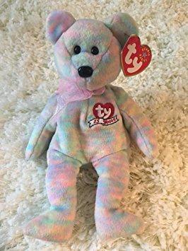 juguete ty beanie babies celebre - 15 aniversario del oso