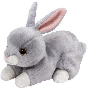 juguete ty beanie babies conejos mordelón, lila, el conejit