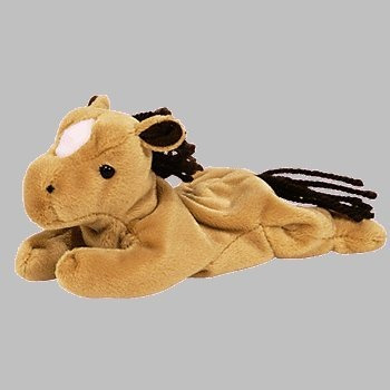 juguete ty beanie babies - derby del caballo - jubilados