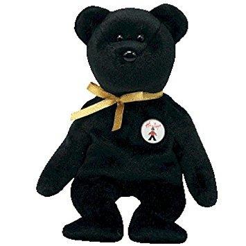 juguete ty beanie babies ebony - bear (hamley reino unido e