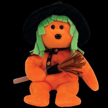 juguete ty beanie babies hechizos - halloween bear (ty excl