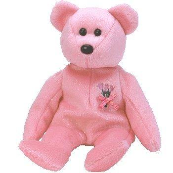 juguete ty beanie babies mamá - oso
