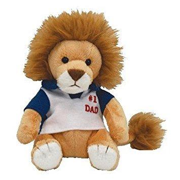 juguete ty beanie babies mi papá - día de padres lion