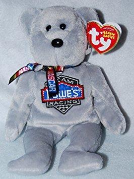 juguete ty beanie babies - nascar team lowe's racing jimmie