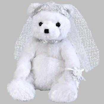 juguete ty beanie babies novia el oso beanie