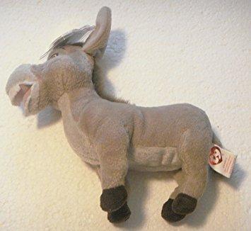 juguete ty beanie babies - shrek tercero burro - retirado