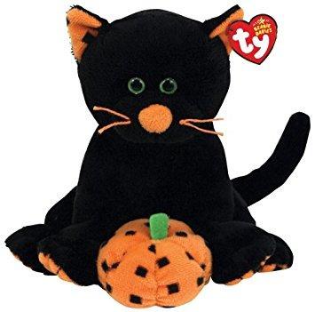 juguete ty beanie babies superstición - gato negro