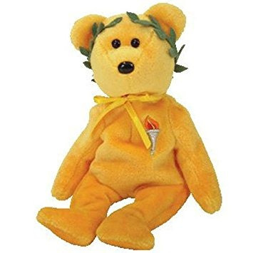 juguete ty beanie babies - victoria juegos olímpicos de oso