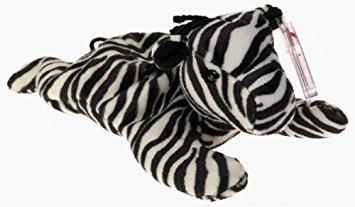 juguete ty beanie babies - ziggy la cebra
