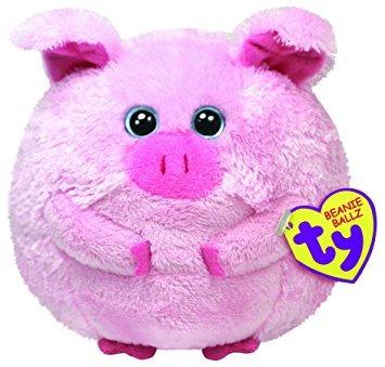 juguete ty beanie ballz beans el cerdo grandes