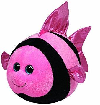 juguete ty beanie ballz gilly angelfish felpa