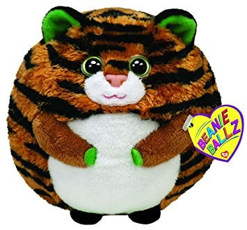 juguete ty beanie ballz monaco el tigre (medium)