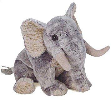 juguete ty beanie bebé - bahati el elefante africano (inter