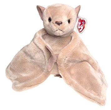 juguete ty beanie bebé - batty el bat (versión brown)
