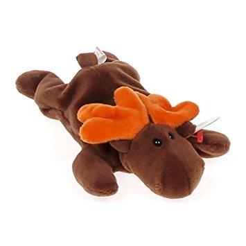 juguete ty beanie bebé - chocolate los alces
