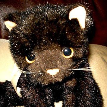 juguete ty beanie bebé clásico purrecious del gato del gati