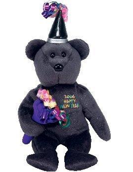 juguete ty beanie bebé  del año nuevo del oso w78
