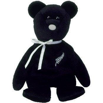 juguete ty beanie bebé - ferny el oso (nueva zelanda exclus