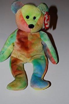 juguete ty beanie bebé - garcia el oso teñidos a ty (4ª gen