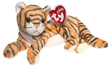 juguete ty beanie bebé - india del tigre