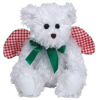 juguete ty beanie bebé - joy el ángel del oso