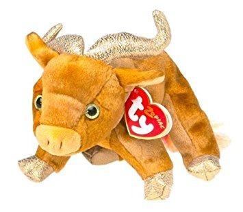 juguete ty beanie bebé - la buey chino del zodiaco por ty b