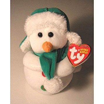juguete ty beanie bebé - mr nieve del muñeco de nieve