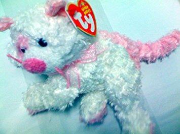 juguete ty beanie bebé - pinkerton el gato rosado