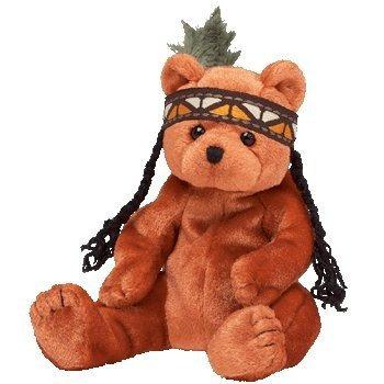 juguete ty beanie bebé - pluma poco del oso