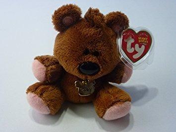 juguete ty beanie bebé - pooky el oso