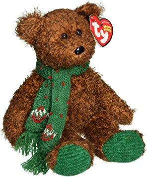 juguete ty beanie bebé -'s saludos de la estación del oso (