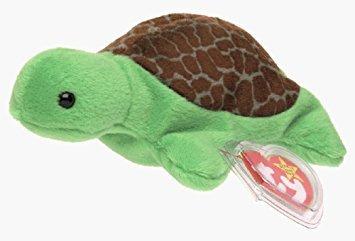 juguete ty beanie bebé - speedy la tortuga