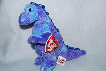 juguete ty beanie bebé - tyranno el dinosaurio