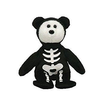 juguete ty beanie boneses para halloween - esqueleto del os