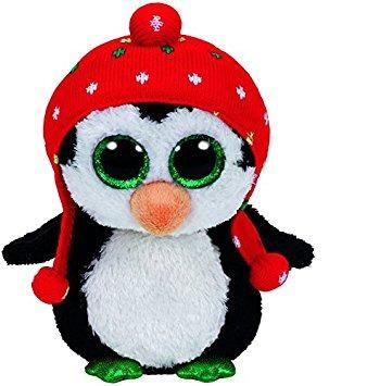 juguete ty beanie boo de peluche - congelar el 6 pingüino