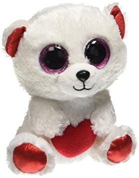 juguete ty beanie boo - oso mimoso el oso polar 6