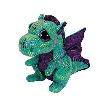 juguete ty beanie boos cinder el dragón verde w18