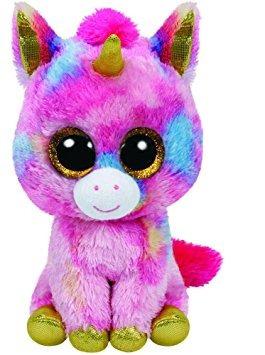 juguete ty beanie boos fantasía del unicornio, la flora de