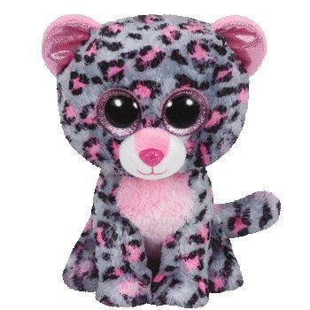 juguete ty beanie boos leopardo tasha, koala kacey, y zebra
