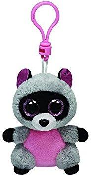 juguete ty beanie boos rocco - mapache clip