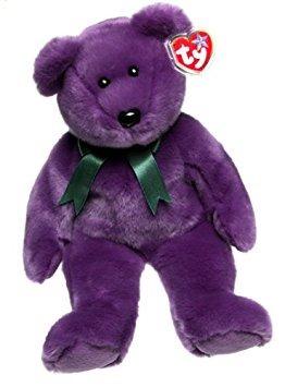 juguete ty beanie de amigos - empleado el oso
