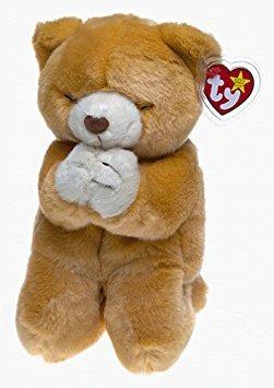 juguete ty beanie de amigos - esperan que el oso orar