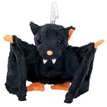 juguete ty beanie halloweenie bat-e - bat