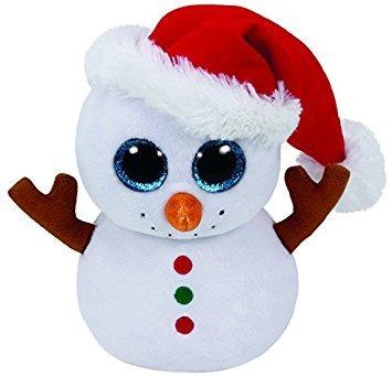 juguete ty beanie scoop (muñeco de nieve)