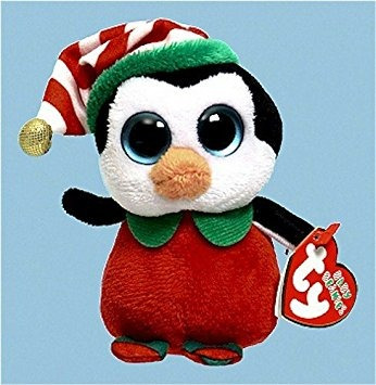 juguete ty beanies bebé feliz - pingüino