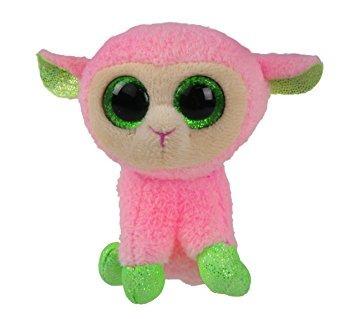 juguete ty cesta gorros babs - rosa cordero